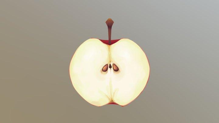Apple 3D Model
