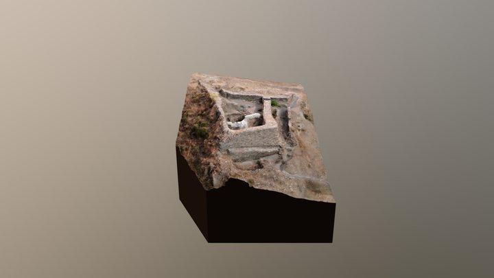 Bastión Bronce del Cerro de la Encina 3D Model