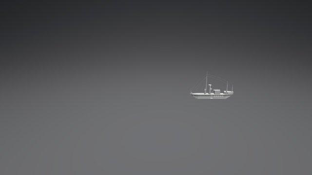 Buque Bae-Calderon Animación 3D Model