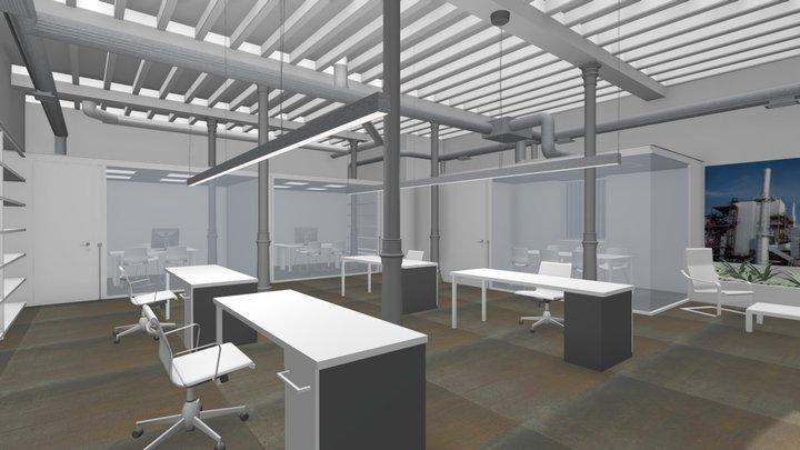 180-18 Oficinas Sedisa 3D Model