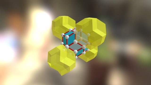 DRT with Positive Tetrahedral Translation 3D Model