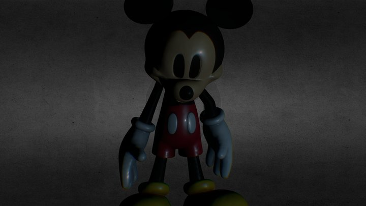 Animatemickey2 3D Model