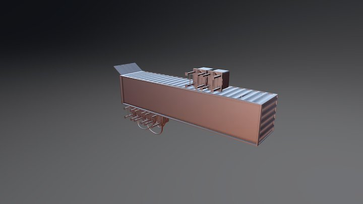 Container Plant 3D Model