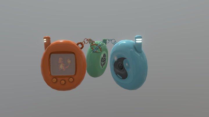 Starter Pokémon - #TamagotchiChallenge 3D Model