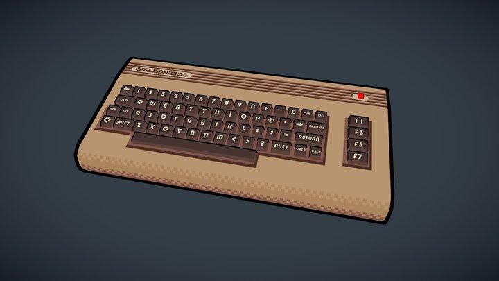 Commodore 64 3D Model