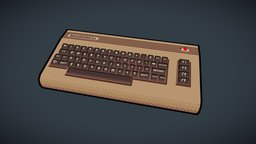 Commodore 64 3D Model