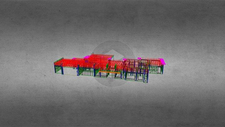 7971F-House 3D Model