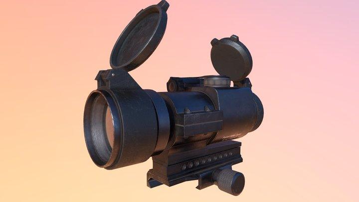 Aimpoint PRO reflex sight 3D Model