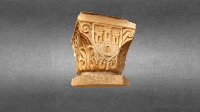 Capitel del Museo Etnográfico de Nicosia, Chipre 3D Model