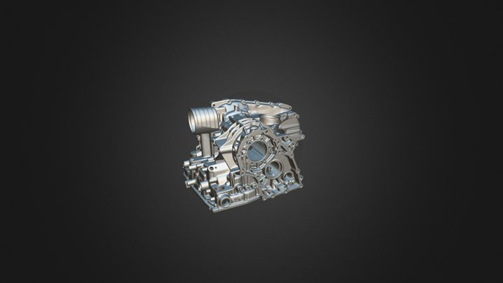 Engine Cylinder Block 3D Model