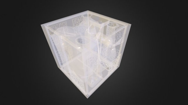 Hamlet Waiting for Godot pavilion 3D Model