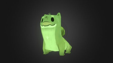 Bulba - low poly exercise 3D Model