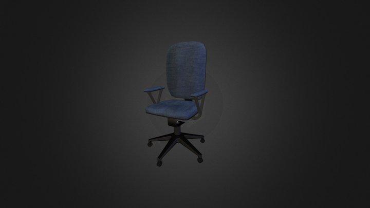 Office Chair LP 3D Model