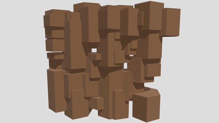 Tree Bark Design (1) 3D Model