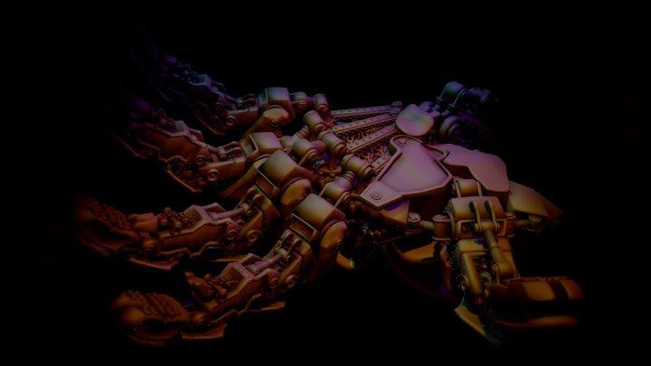 Iron Hand 3D Print 3D Model