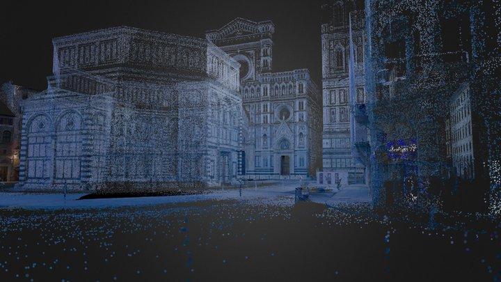 Piazza Duomo10M 3D Model