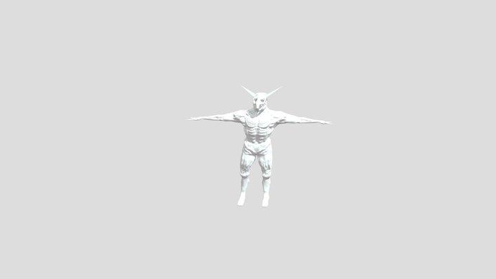 Demon Male Monster 3D Model