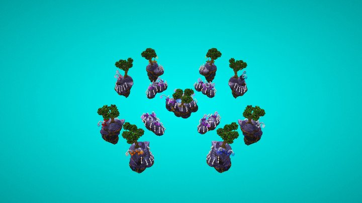 BedWars MagicWater 3D Model
