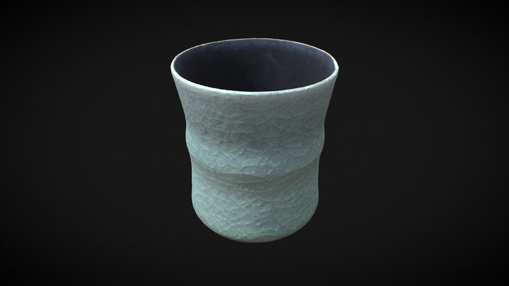 Japanese tea cup 3D Model
