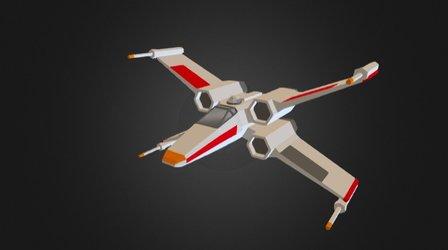 Ex.X-wing 3D Model