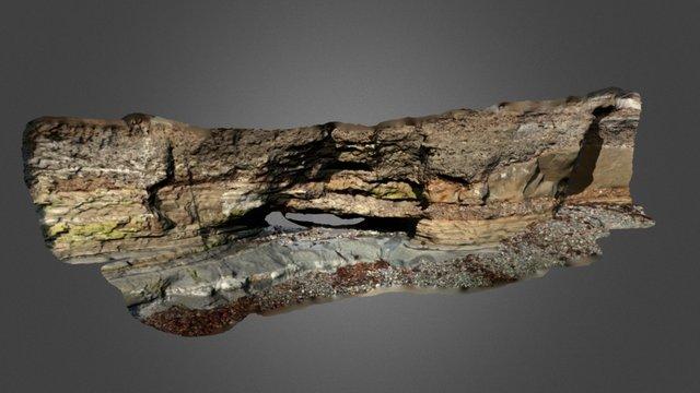 Rellleno Canal ER15-018_V02/Fluvial Deposit V02 3D Model
