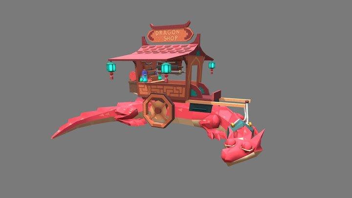 Mobile shop 3D Model
