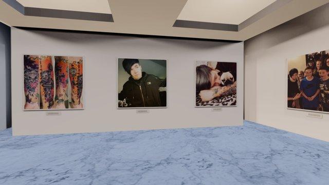 Instamuseum for @dantdm 3D Model