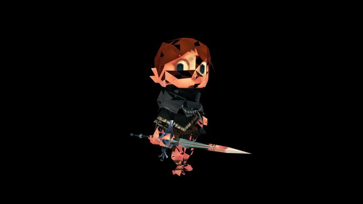 Dark Souls: New Leaf - VGRemix Player Model 3D Model