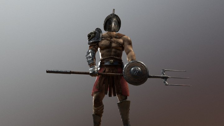 Gladiator 3D Model