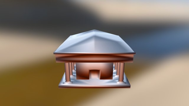 Classical Architecture Final Build (Learning) 3D Model