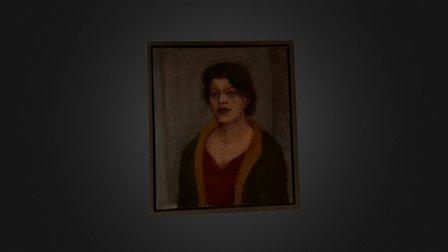"Porträt ""Die Gräfin"" (2001) 3D Model"