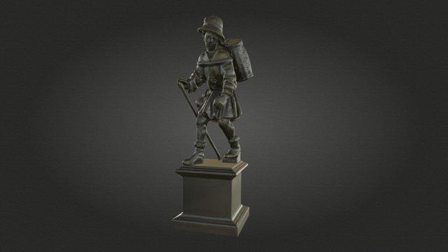 Statuette eines Bauern / Peasant Statuette 3D Model