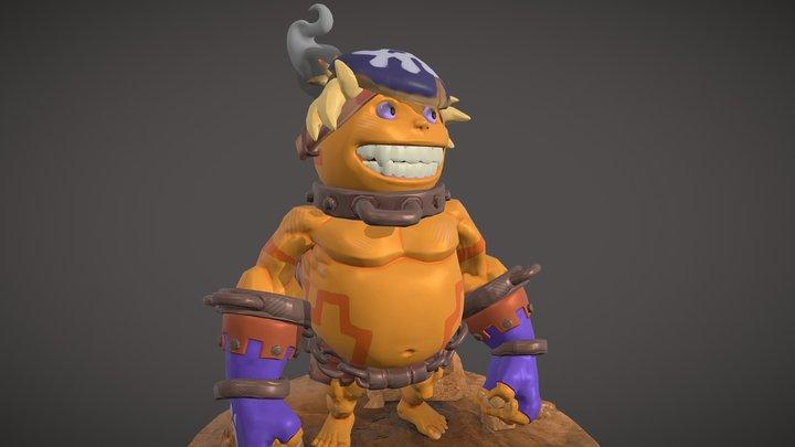 Goron Kid Chogoro 3D Model