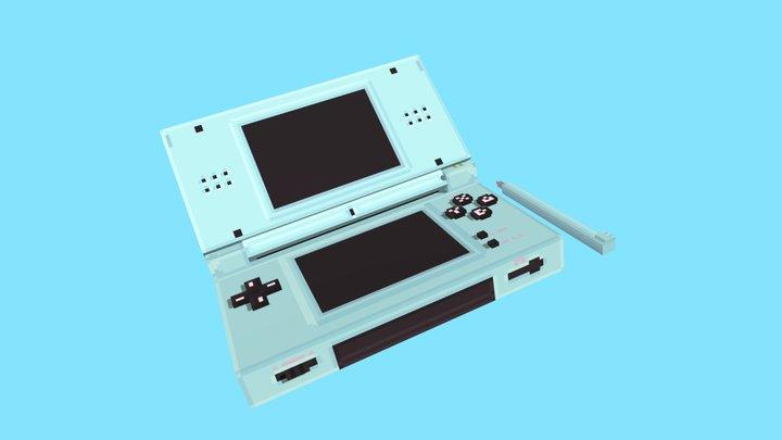 DS Lite - Blockbench 3D Model