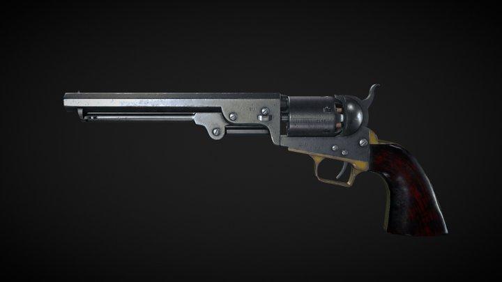 Colt Navi 1851 3D Model