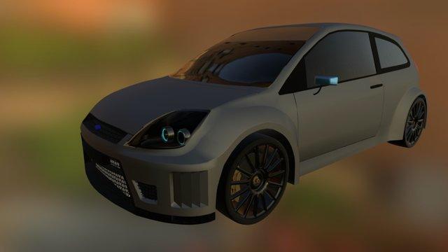 Fiesta Concept 3D Model