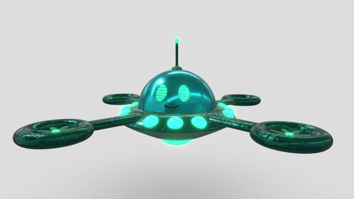 Ufo robot! 3D Model