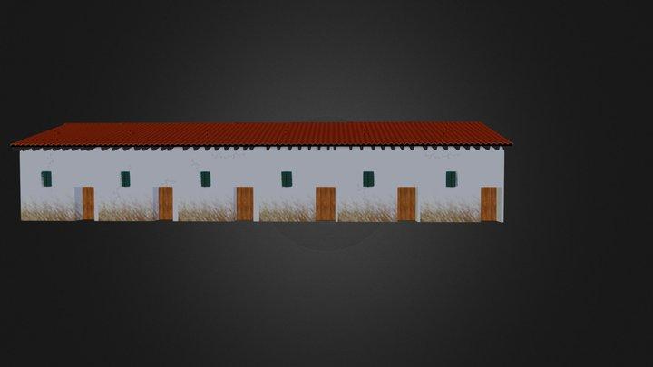 construct3d_Roman Barracks  3D Model
