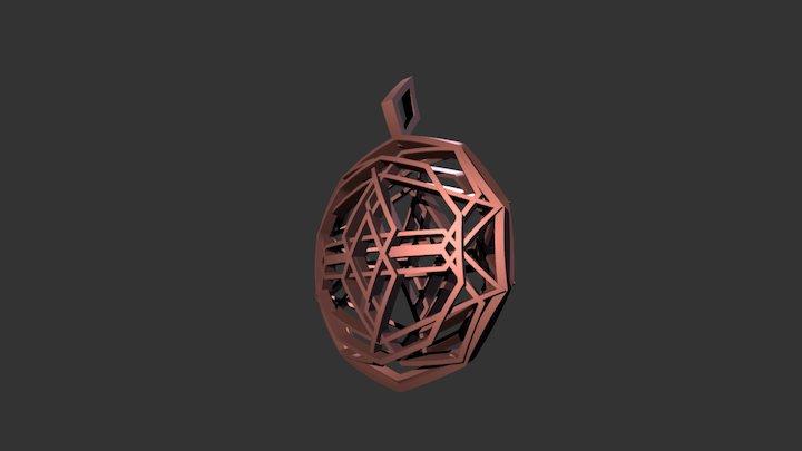Source Sphere Locket 3D Model