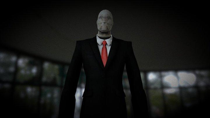 Slender Man (Slender The Arrival) 3D Model