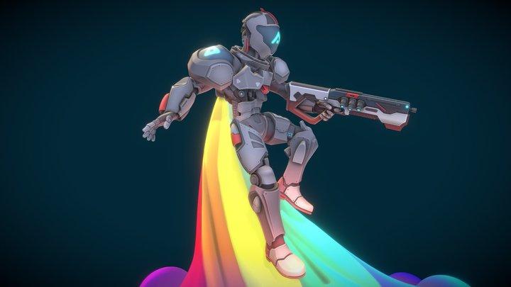 Jack Trigger 3D Model
