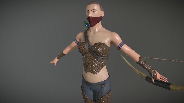 LucyLiu 3D Model