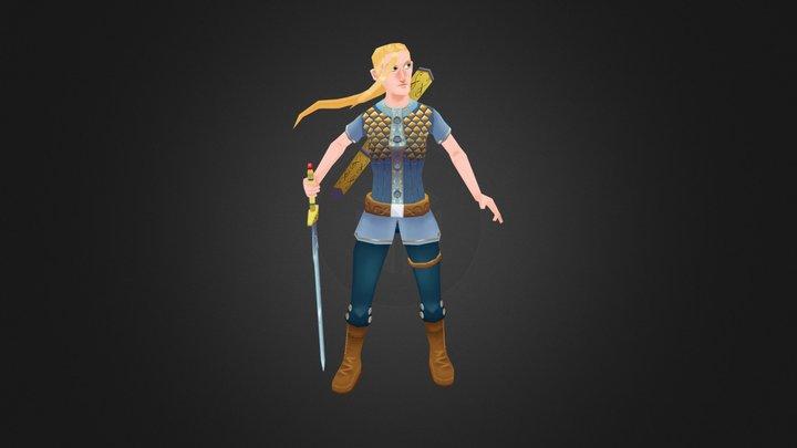 The Princess 3D Model