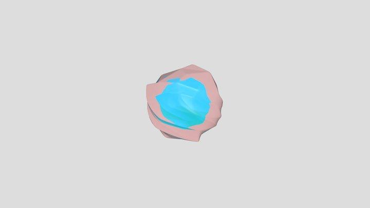Ice Ball 3D Model