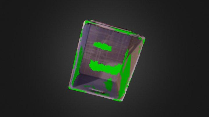 // Caisse 3D Model