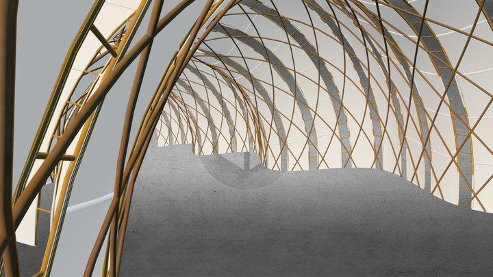 Expo 2000 Japan Pavilion 3D Model