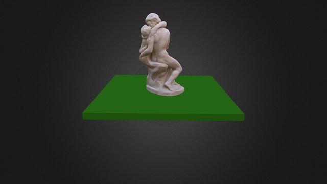 Der Kuss 3D Model