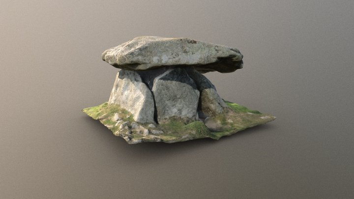 Chûn Quoit, Cornwall 3D Model