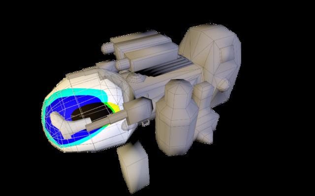 ship wip 3D Model