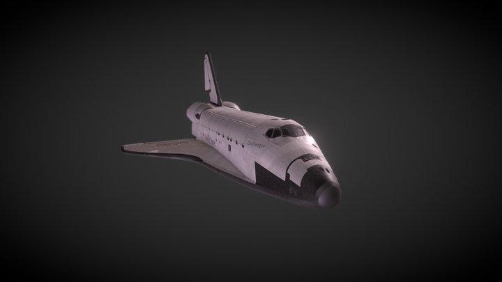 Challenger 3D Model